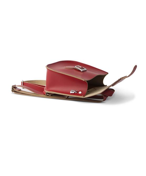brit stitch handbag red