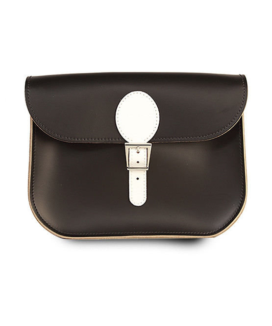 brit stitch handbag blackwhite
