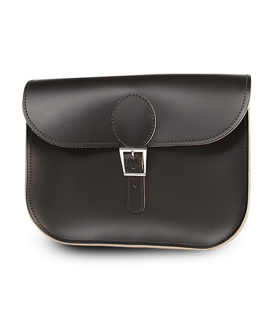 brit stitch handbag black