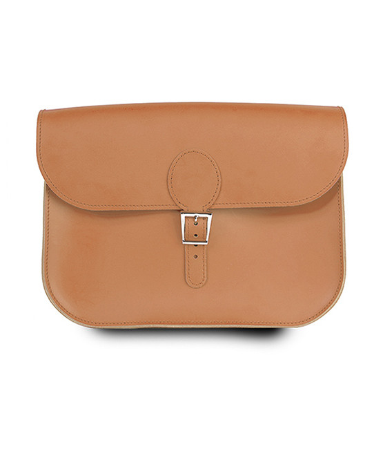 brit stitch handbag orange