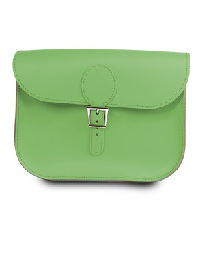 brit stitch handbag green
