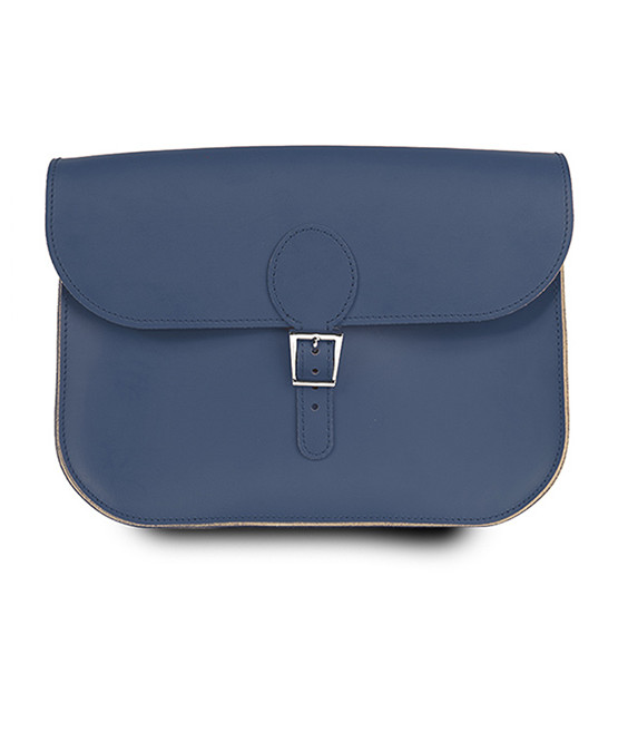 brit stitch handbag blue