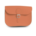 brit stitch handbag orange