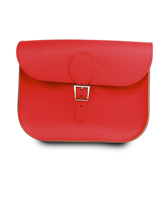 brit stitch handbag red