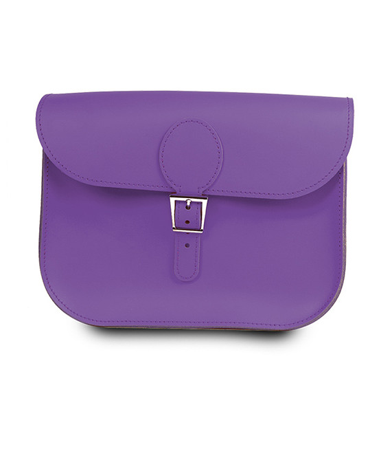 brit stitch handbag purple