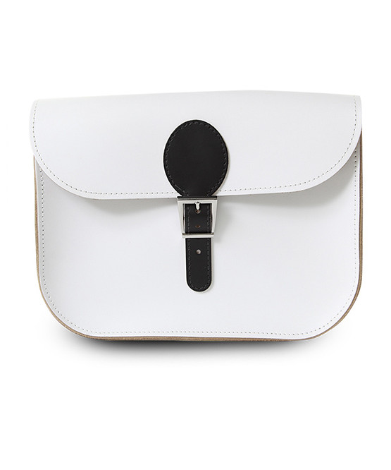 brit stitch handbag whiteblack