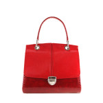 independent handbag designer red
