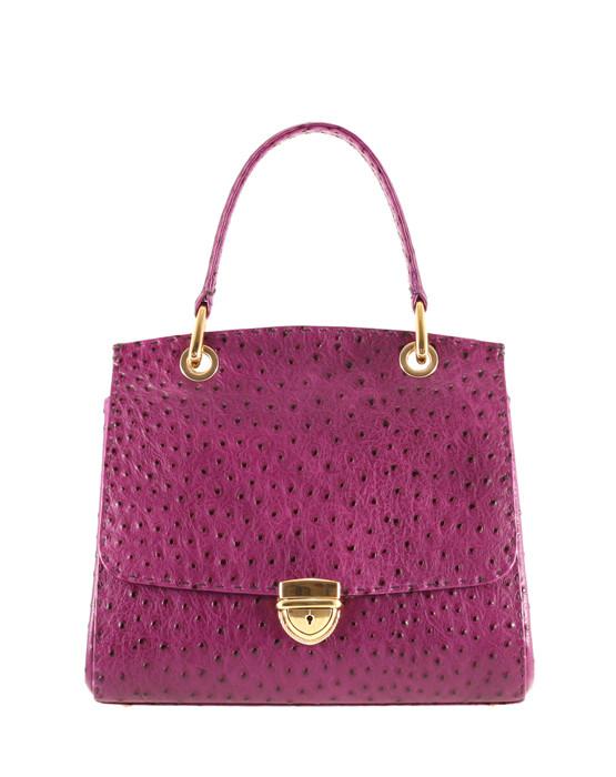 independent handbag designer purple