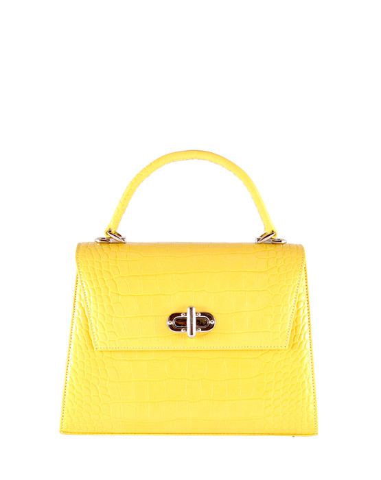 independent handbag designer gion yellow
