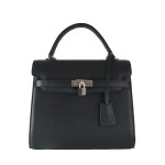independent handbag designer black