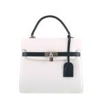 independent handbag designer white