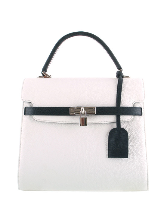independent handbag designer white