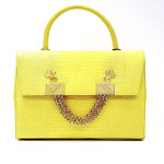 lyasmine handbag golden