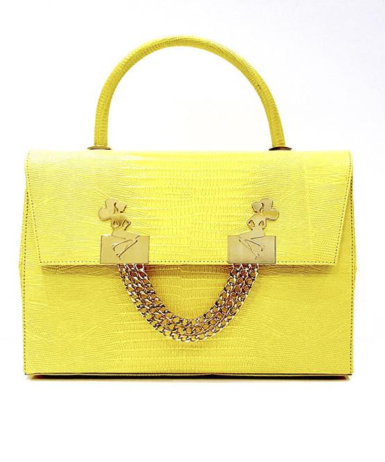 lyasmine handbag golden