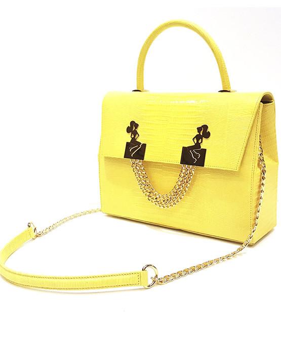 lyasmine handbag gold