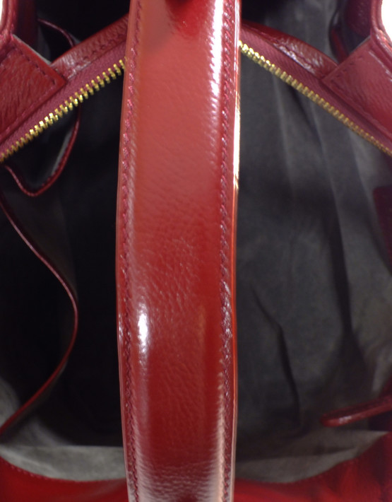 monique handbag red