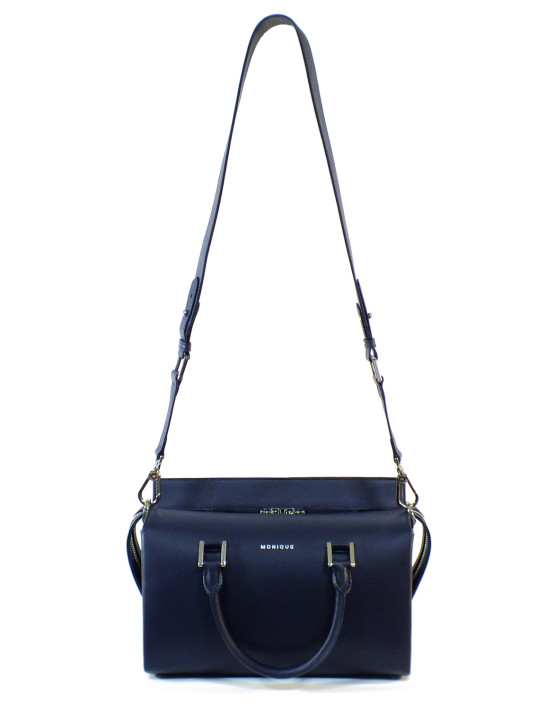 monique handbag designer blue
