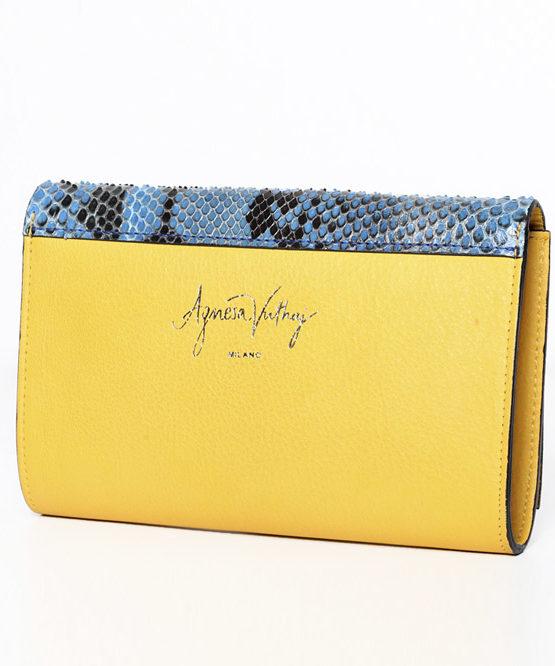 Agnesa Vuthaj_Handbag-yellow